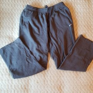 Nike Essential Basic Grey Drawstring Sweatpants